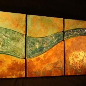 Flow (triptych0